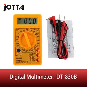 Jotta LCD Digital Multimeter DT-830B Electric Voltmeter Ammeter Ohm Tester AC/DC 750/1000V Amp Volt Ohm Tester Meter richmeters 102 mini multimeter lcd digital multimetro for volt amp ohm tester back light meter voltmeter ammeter