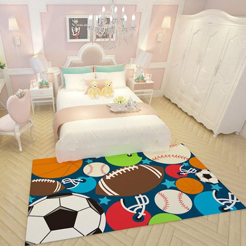 large rectangle Lovely Cartoon carpet for childrenroom bedroom livingroom kids play carpets baby climb floor mat Area rug 200cm in Carpet from Home Garden