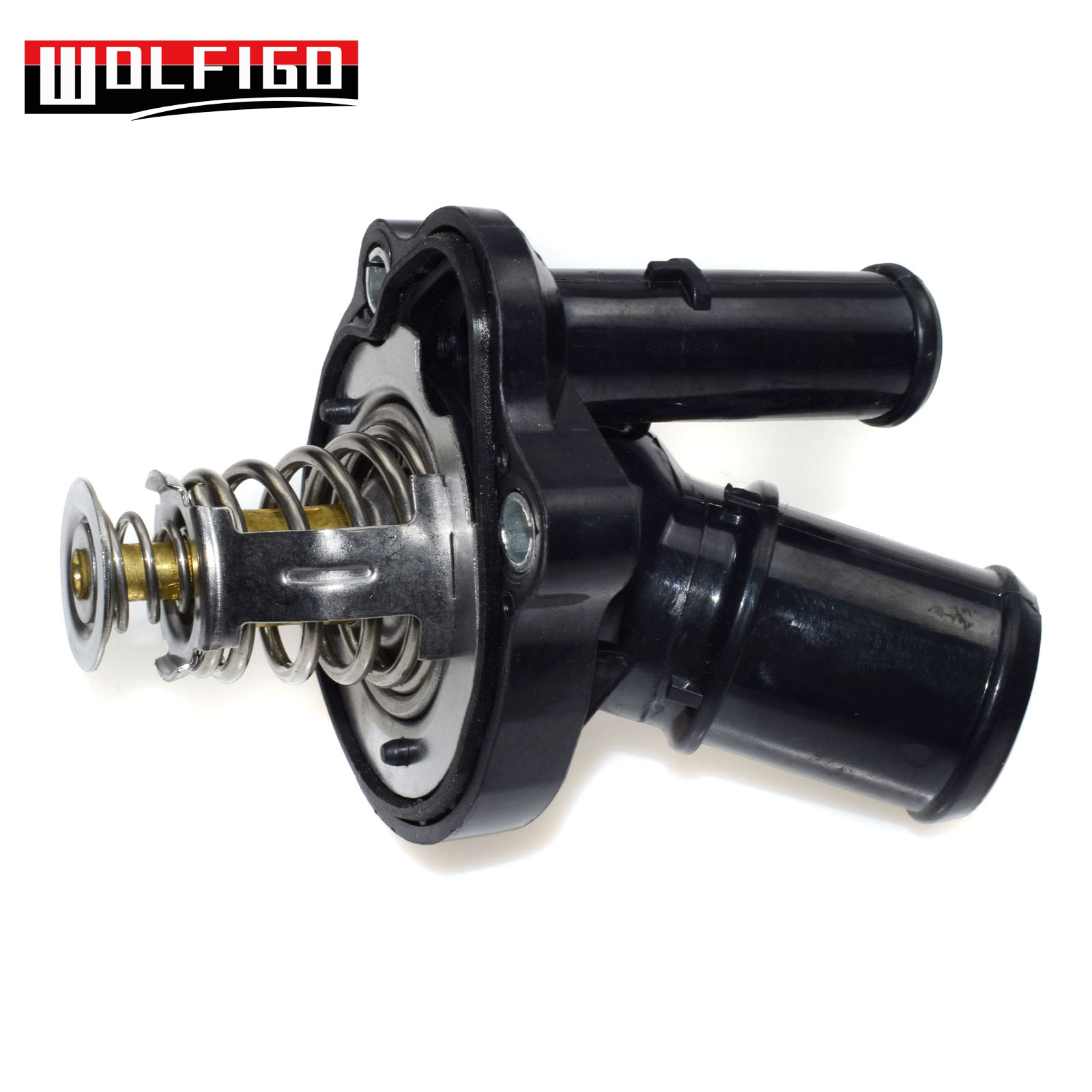 Thermostat /& Housing For Ford Escape Focus Transit Connect Mazda 3 5 Lincoln MKZ