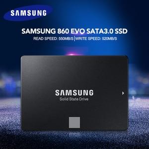Image 3 - Samsung 860 EVO SSD 250GB 500GB Internal Solid State Disk HDD Hard Drive SATA3 2.5 inch Laptop Desktop PC Disk HD SSD