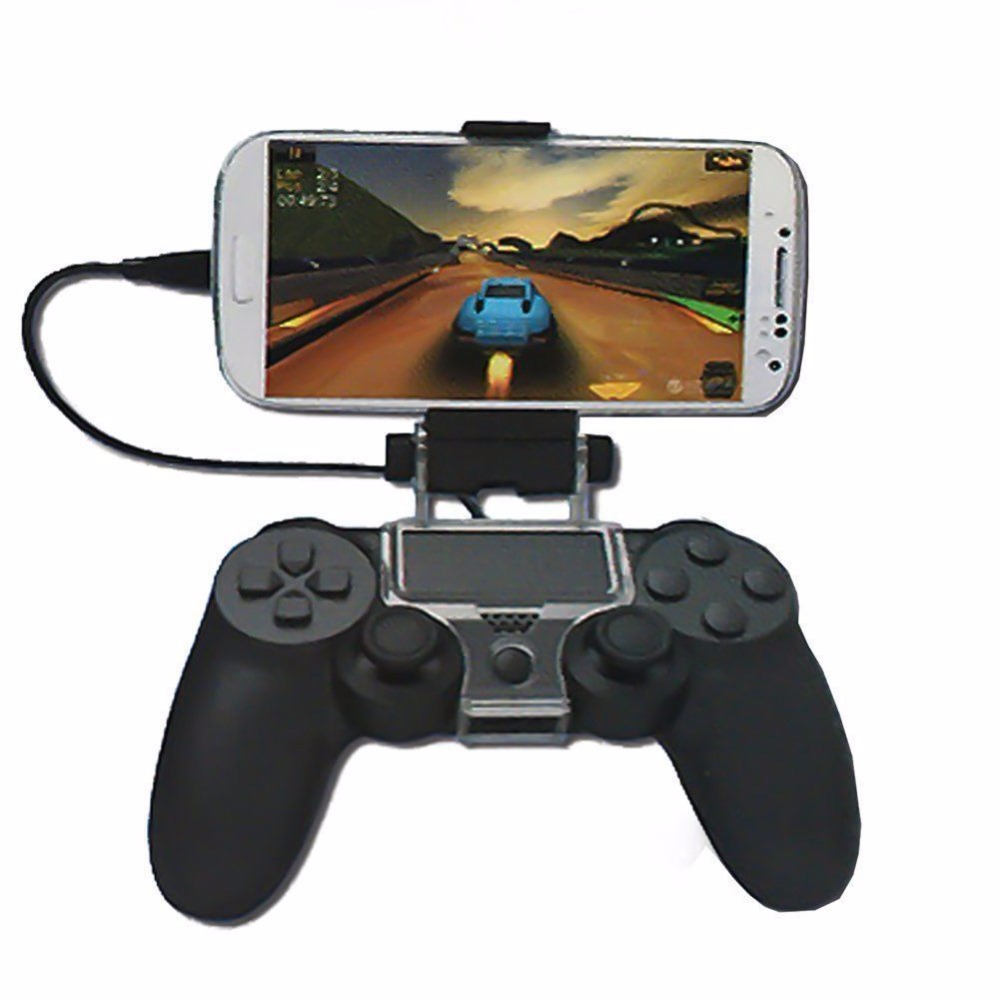 New for PS4 phone Clip Cell Mobile Phone Clamp Holder For Play station 4 Game Controller