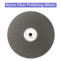 1pcs 300mm 12 Nylon Fiber Polishing Wheel Non woven Polishing Buffing Buffer Pad Grinding Disc Wheel Abrasive Tool 7P 9P