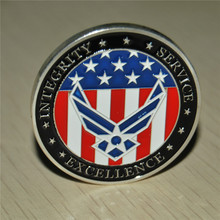 Free Shipping 1/3/5/10/15PCS, United States Air Force  Oath of Enlistment - USAF Challenge Coin Commemorative coins