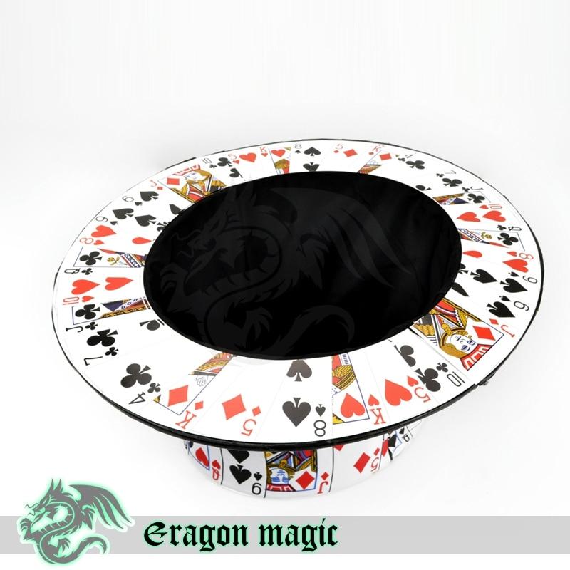 Tarjeta para sombrero juguetes etapa Trucos de magia Magie juguetes al por menor y al por mayor - 2