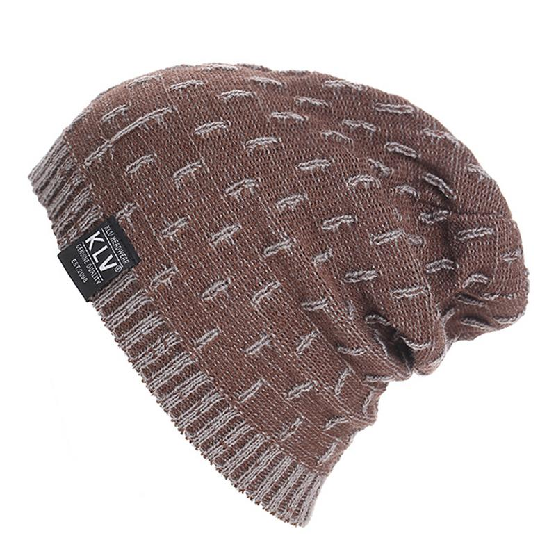 Fashion Autumn Winter Warm Knitted Hat Cap   Skullies     Beanies   For Men Women Knit Ski Hats Caps Bonnet Female Male Boy Girl Hat Cap