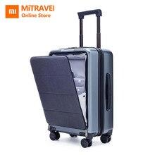 Xiaomi бизнес Дорожный чемодан 20 дюймов открывающаяся кабина с универсальным колесом для женщин и мужчин легкий чемодан Водонепроницаемый