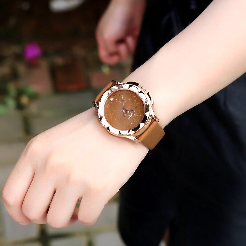 BGG Yepyeni 2018 Moda Kuvars İzle Kadınlar Saatler Bayanlar - Kadın Saatler - Fotoğraf 5