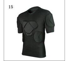 2017 new american football sports safety thicken gear soccer goalkeeper jerseys pants knee pads elbow helmet kneepads protector