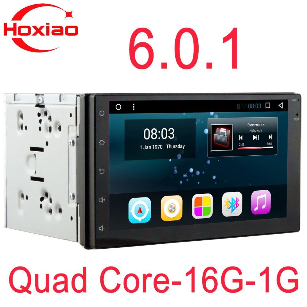 imágenes para 2 din radio del coche androide dvd reproductor multimedia de navegación gps Doble sistema de audio 2din para nissan golf vw Quad-Core Android 6.0