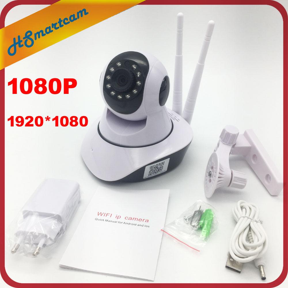 1080 P WiFi IP Caméra HD Sans Fil 2.0MP 1920*1080 Intelligent CCTV sécurité IR Coupe-Deux Voies Audio Caméra Xmeye P2P Réseau Bébé moniteur