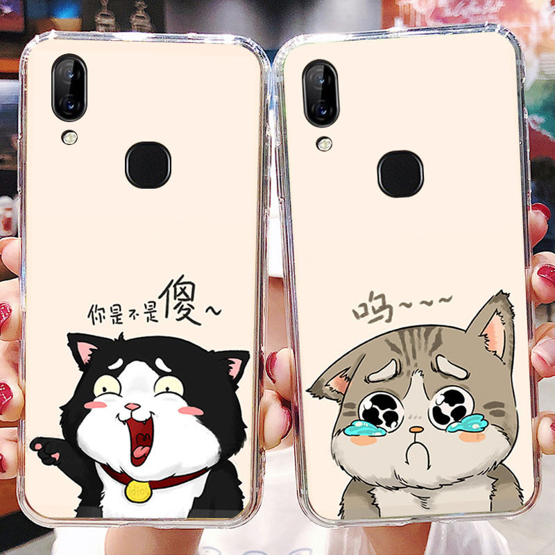 LEN1566_1_JONSNOW Soft Case For Lenovo S5 Pro K5 Pro Painted Pudding Anti Skid Phone Cover for Lenovo A5 Capa Fundas