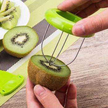 Hot Sale Mini Fruit Kiwi Cutter Peeler Slicer Kitchen Gadgets Tools Kiwi peeling tools For Pitaya Green 29 1