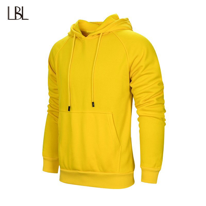 Hoodies Men Streetwear Joggers Hip Hop Outwear Solid Mens Hoody Hooded Fitness Clothing Mans Sportswear Mens Sweatshirts 2018