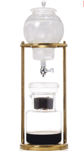Espresso Coffee Ice Coffee maker Ice Drip Cold Brewer coffee maker/dutch coffee maker/water cafe maker 15hp water cooled condenser for ice maker machines