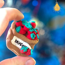 SUKIToy DIY plasticine Slime polymer modeling Clay Toys for children Colored With Magnet play doh kids gift for the new year(China)