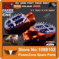 Billet CNC Foot Pegs Pedals Rests Fit KTM SX SXF EXC 125 250 300 450 520 525 Motorcycle Motocross Supermoto Free Shipping