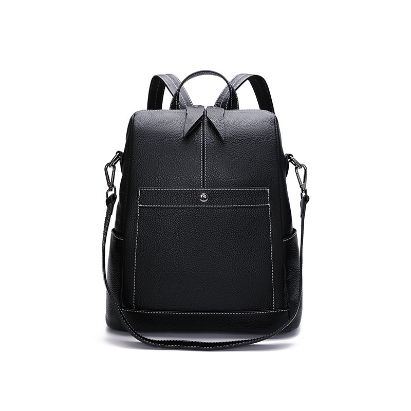 9065 Fashion Shoulder Bag Female Soft Leather Travel Large Bag Female Top Layer Leather Bag Women Backpack9065 Fashion Shoulder Bag Female Soft Leather Travel Large Bag Female Top Layer Leather Bag Women Backpack
