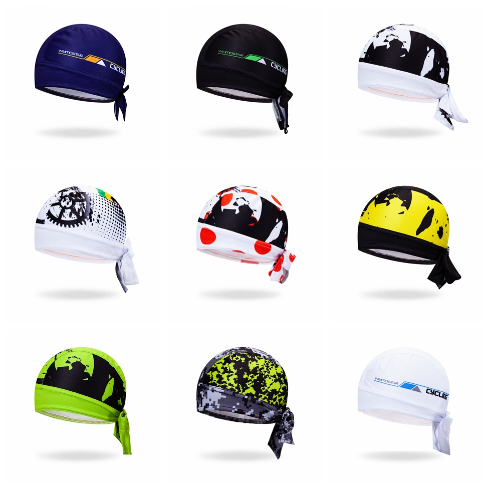 2018 Men's Bike Bicycle Cycling Cap Headband Riding Road Women Scarf Bandana Mountain Hat Cap Girls MTB Pirate Scarf Breathable