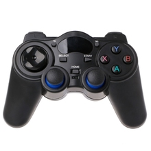 High Quality Brand 2.4G Wireless Gaming Joystick Controller Gamepad For Android Tablet PC Smart TV Box terios s3 bluetooth gamepad for android wireless joystick gaming controller black for android smartphone android tv box