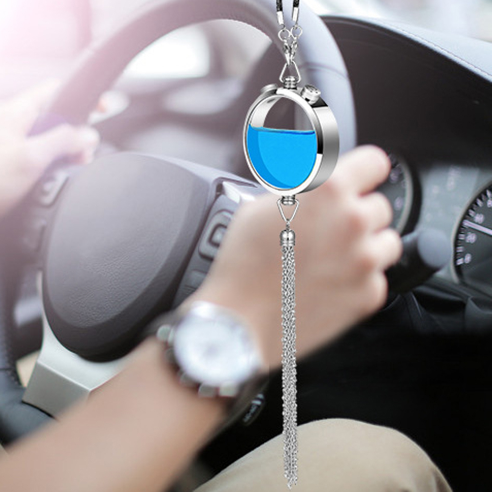 Car Air Freshener Perfume Hanging Pendant Fragrance Smell Freshener Automobiles Interior Scent Odor Diffuser Auto Flavoring Gift car outlet perfume air freshener with thermometer lime