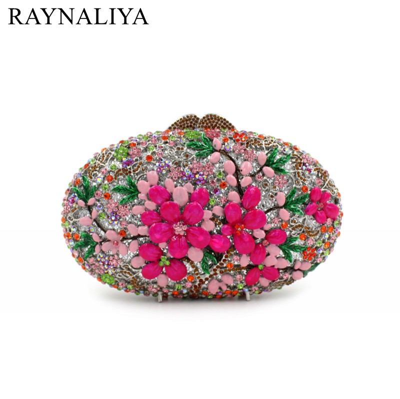 Multi Flower Crystal Clutch Evening Bag For Women Party Gold Metal Clutches Wedding Purses Bridal Clutch Hand Bag SMYZH-E0337 mz15 mz17 mz20 mz30 mz35 mz40 mz45 mz50 mz60 mz70 one way clutches sprag bearings overrunning clutch cam clutch reducers clutch