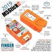Nieuwe Collectie! 2019 M5StickC ESP32 PICO Mini IoT Development Board Vinger Computer met Kleuren LCD