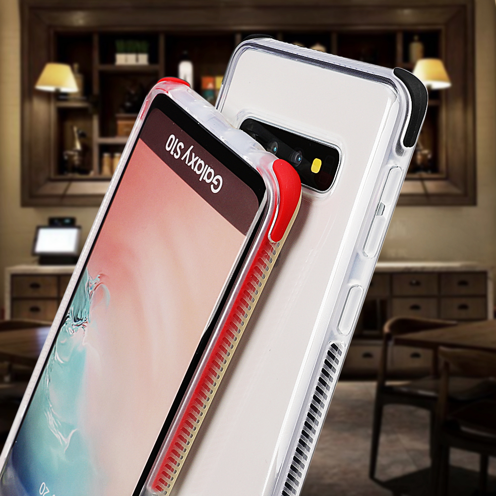 SUYACS Shockproof Clear Phone Case For Samsung Galaxy S10Plus S10e S10 For iPhone XR XS Max XS Soft TPU Phone Back Cover Case