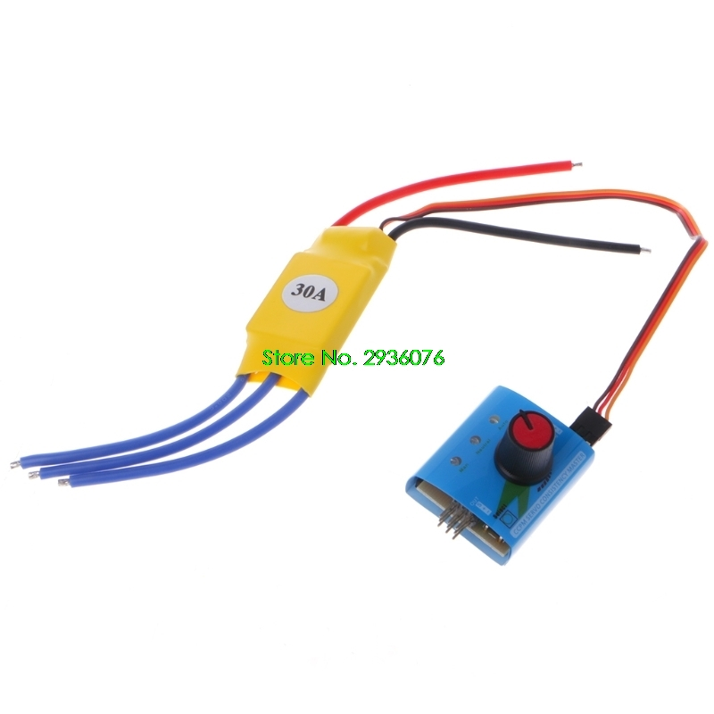 2018 New DC12V 30A High-Power Brushless Motor Speed Controller DC 3-phase Regulator PWM Drop Shipping Support bgektoth high power brushless motor speed controller dc 3 phase regulator pwm dc12v 30a 1a60492