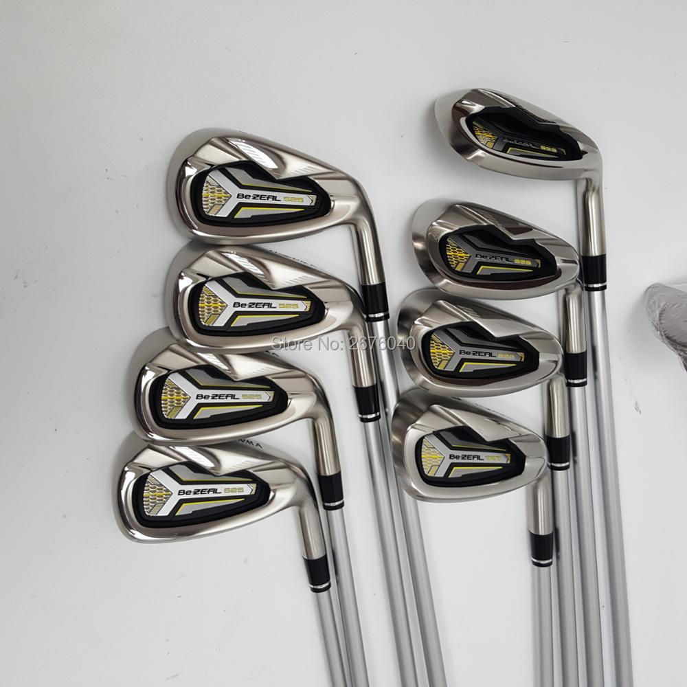 Image 2 - Golf  irons HONMA BEZEAL 525 Golf clubs with Graphite Golf shaft R or S flex 8 piece Free shipping-in Golf Clubs from Sports & Entertainment