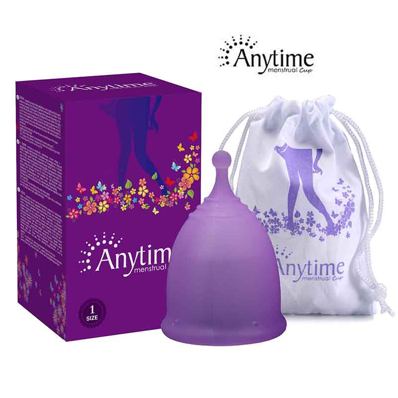 New Anytime AC03 Wholesale Reusable Medical Grade Silicone Menstrual Cup Feminine Hygiene Product Lady Menstruation Copo menstruation cup dedicated sterilizer medical grade silicone menstrual cup sterilizer feminine hygiene coupe menstruelle