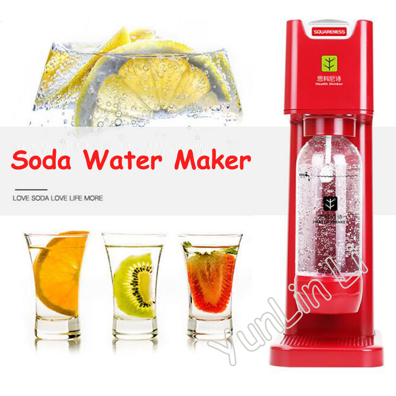 все цены на Soda Water Maker Household Carbonated Drinks Bubbling Machine Self-Made Fruit Soda Making Machine G9