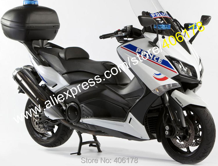 Hot Sales,For Yamaha T-MAX530 2015 2016 T-MAX 530 TMAX530 15 16 TMAX 530 Bodyworks Police Motorcycle Fairing (Injection molding) hot sales cheap price for yamaha tmax 530 2012 2014 t max 530 tmax530 matte black sport bike abs fairing injection molding