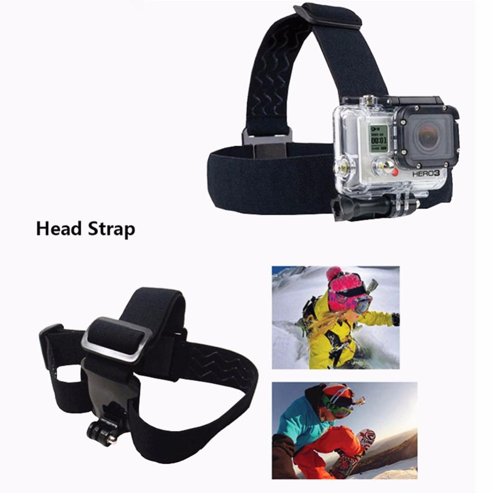 Head Strap for SJCAM 5000+ for GoPro three Way stick