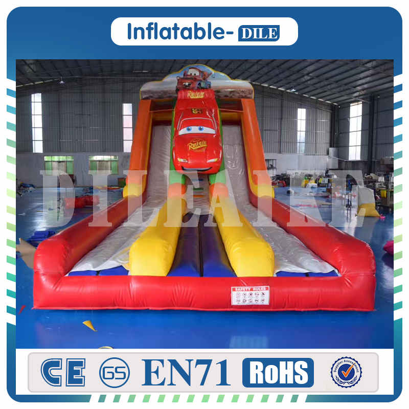 Funny Large Inflatable Swimming Pool Water Toys Customized Pool Slides for Inground Pools