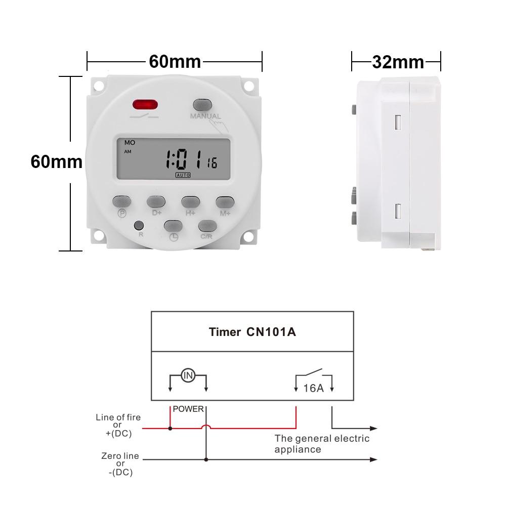 CN101A尺寸接线图