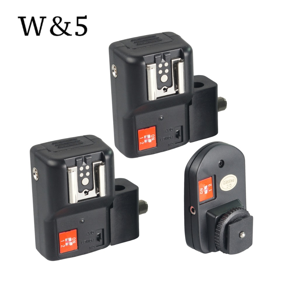 Wansen PT-04NE 4 canale Wireless Speedlite Speedlite Flash Trigger + - Camera și fotografia
