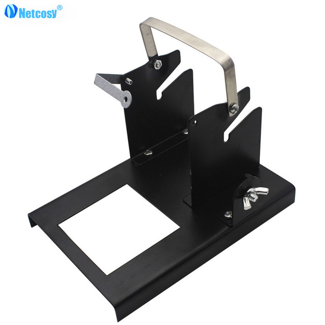 Netcosy Multi-function Tin Wire Frame Soldering iron Support Stand holder Welding Wires Stand Soldering Shelf