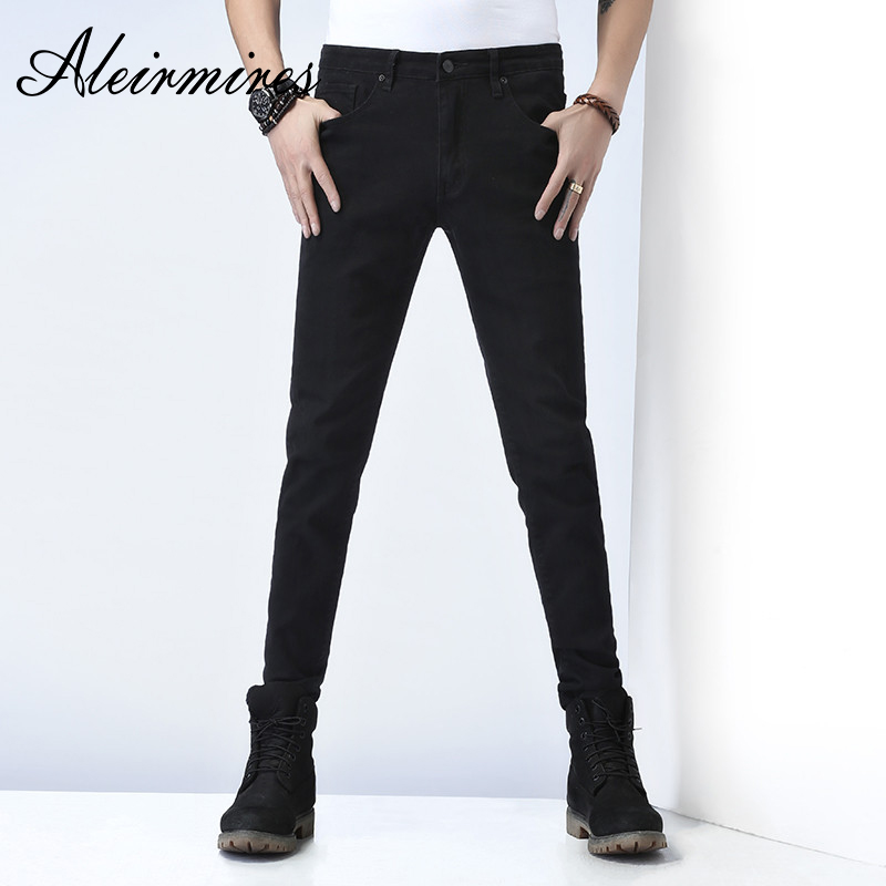 fc05af16d 2018 Direct Selling Zipper Fly Skinny Fake Designer Clothes New Nice  Photomens Wear Jeans Mens Trousers ...
