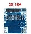 3 S сотовый 16A 11.1 В 12.6 В BMS PCM li-ion 18650 литиевая батарея охраны доска с Баланса заряда батареи разряда