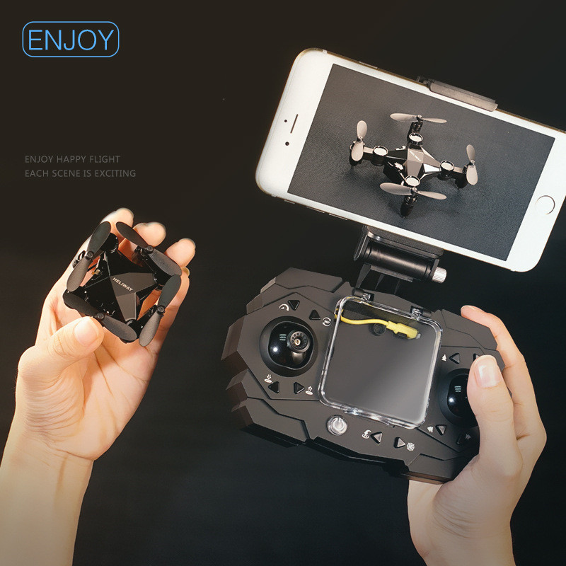 Mini Unmanned Aerial Vehicle Mini Folding Four-axis Aircraft Spare High-definition Camera Aerial Photography Boy Toys