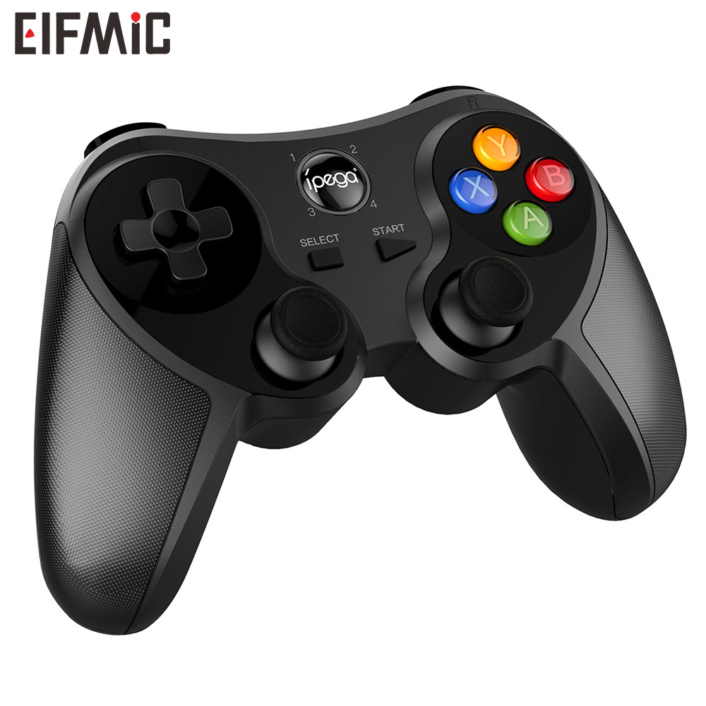 Wholesale Hot Sale ELFMIC Bluetooth Game Pad Joystick Wireless Controller Remote Control Shutter Gamepad PC Computer Laptop in Handheld Game Players from Consumer Electronics