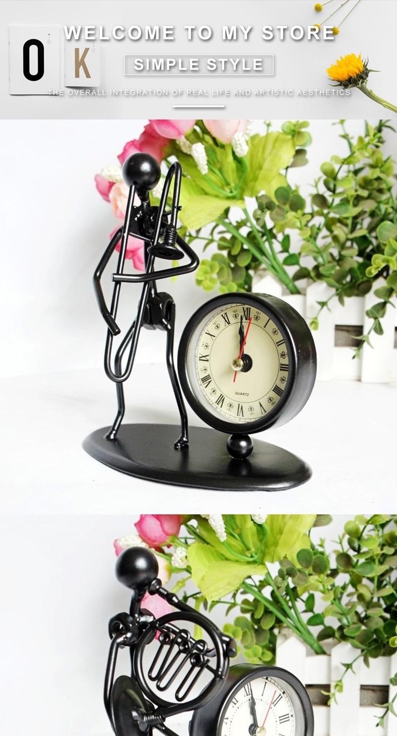 clock bicycle bureau kalender mesa vintage ahşap saat circular wood azan wall clock retro bamboo clock clock with pendulum clock humidity (1)