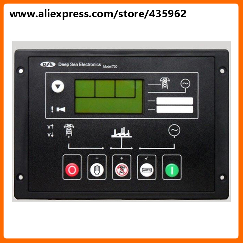 DSE720 Controller for Diesel Generator Set Control Module high quality Genset spare part free shipping deep sea generator set controller module p5110 generator control panel replace dse5110