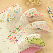 Lace flower Mini roller correction tape for kid birthday Masking tapes Stationery Office accessories School supplies