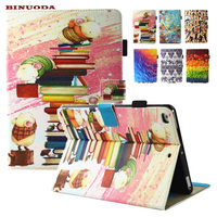 For IPad Mini Case Promotion Sale Printing Folio Book Magnet Stand Cover For Apple IPad Mini