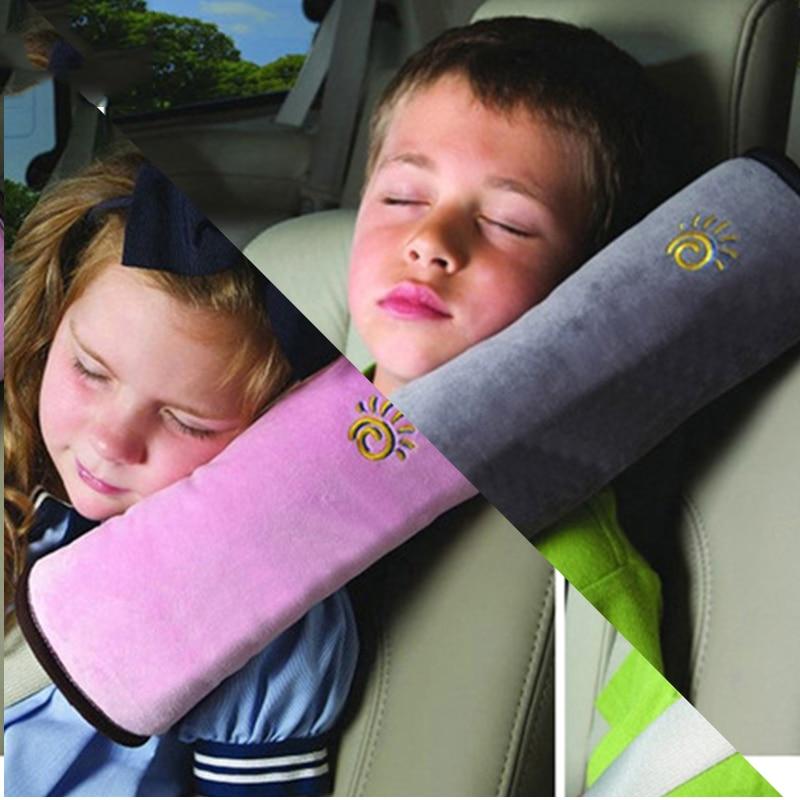 Universal Car Auto Safety Seat Belt Harness Shoulder Pad Cover Children Shoulder Safety Belts Protection Cushion