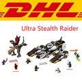 2017 New LEPIN 06038 1167Pcs Ninja Ultra Stealth Raider Model Building Kits Blocks Bricks Toy For Children Compatible Gift 70595