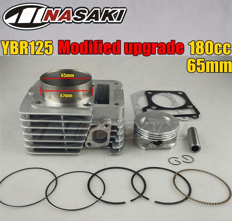 YBR125 Modified Upgrade To YBR180 180CC Big Bore 65MM Motorcycle