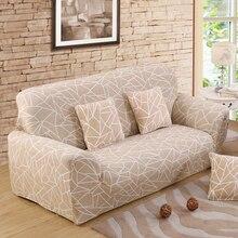 Envío gratis negro Funda de sofá establece Universal Funda Con elástico 1/2/3/4-asiento sofá cubierta 1 unidades
