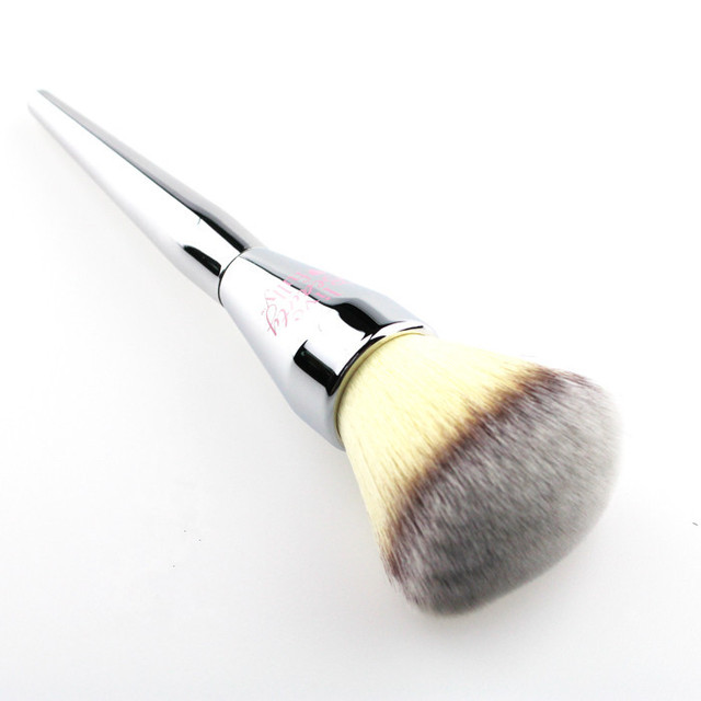 Very Big Rose Gold Powder Makeup Brush Ulta it 221 Professional Cosmetic Face Brushes Soft Hair with Cap 5